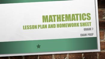 Grade 7 Math exam prep