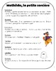 French Halloween story with games and printable activities