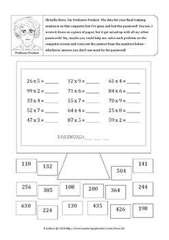 Mathimal Adventure Pack - Fun Math Worksheets (American version)
