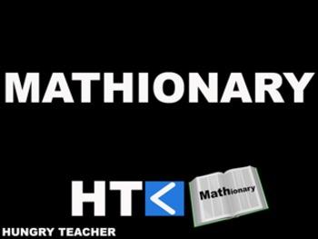 Mathionary