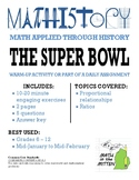 Super Bowl Facts: Pre-Algebra & Applied Math: Proportional