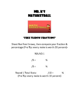 Mathketball
