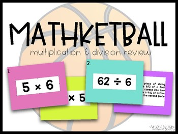 Mathketball! (Multiplication & Division Basketball Review)
