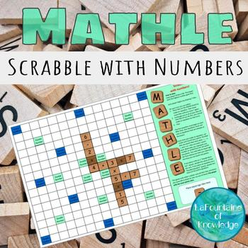Mathle - Math Scrabble with Numbers!
