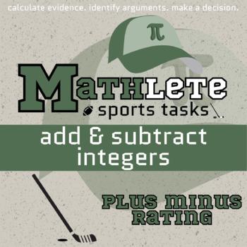 Mathlete - Integer Add & Sub - Hockey - Plus/Minus