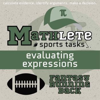 Mathlete - Evaluating Expressions - Football - Fantasy Running Back