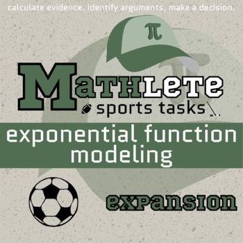 Mathlete - Exponential Function Modeling - Soccer - Expansion
