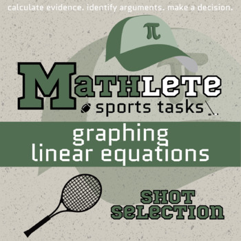Mathlete - Graphing Linear Equations - Tennis - Shot Selection