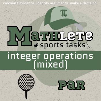 Mathlete - Integers Mixed - Golf - Par