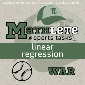 Mathlete - Linear Regression - Baseball -  WAR