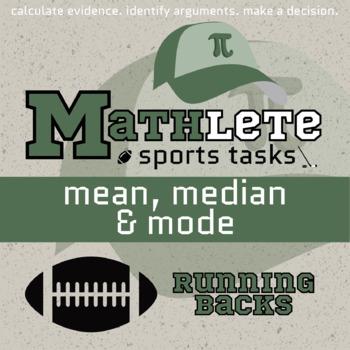 Mathlete - Mean, Median & Mode - Football - Running Backs