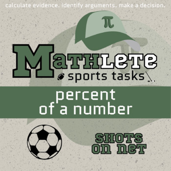 Mathlete - Percent of a Number - Soccer - Shots on Net
