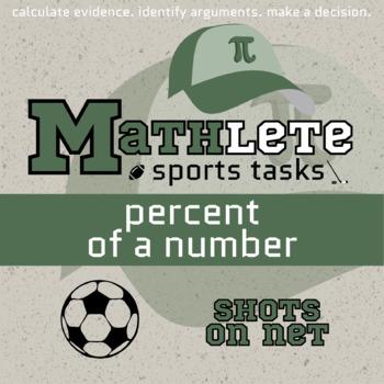 Mathlete - Percent of a Number - Soccer - Shots on Net