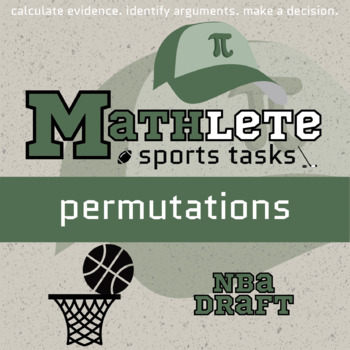 Mathlete - Permutations - Basketball - NBA Draft