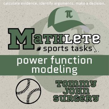 Mathlete - Power Function Modeling - Baseball - Tommy John Recovery
