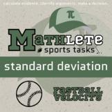 Mathlete - Standard Deviation - Baseball - Fastball Velocity