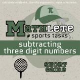Mathlete - Subtracting 3 Digit Numbers - Golf - Short Game