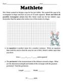 Mathletes:  Area and Perimeter