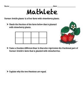 Mathletes:  Equivalent Fractions