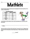 Mathletes:  Ordering Decimals to the Hundredths