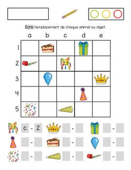 Mathématique et français sur le thème de l'anniversaire (fiches complémentaires)