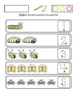 Mathématique et français sur le thème des bestioles