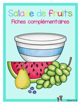 Mathématique et français sur le thème des fruits fiches co