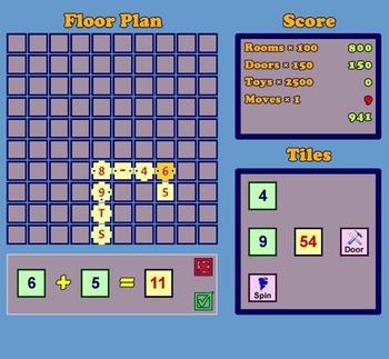 Mathmazement!  A Computational Flash Game