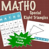 Matho - Special Right Triangles