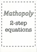 Mathopoly - 2-step equations
