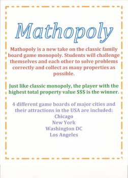 Mathopoly BUNDLE (all 7 varieties)