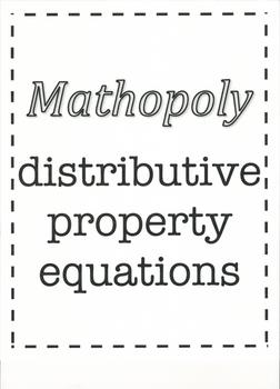 Mathopoly - distributive property equations