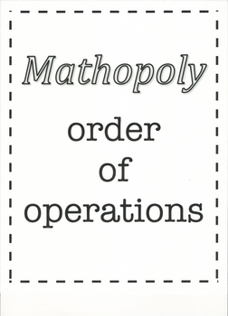 Mathopoly - order of operations