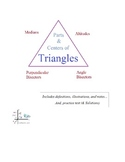 Mathplane parts and centers of triangles