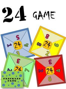 Maths 24 Game