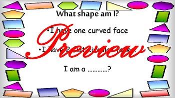 Maths 2d and 3d shapes Grade 1