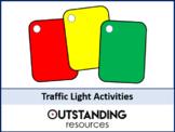 Math: 9 x Traffic Light Card (AFL) Activities
