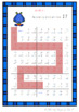 Maths Addition Mazes - Sums of 20-25