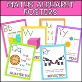 Maths Alphabet Posters