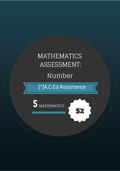 Maths Assessment - Number