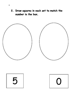 Maths Assessment Pre-K