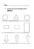 Maths Assessment Pre-K