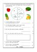 Maths Assessment: Tally Chart and Pie Chart