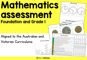 Maths Assessment (aligned to Australian Curriculum Foundation and 1)