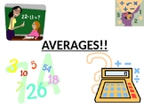 Maths Averages PowerPoint