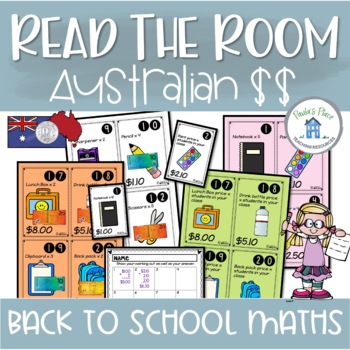 Back to School Maths Australian Money