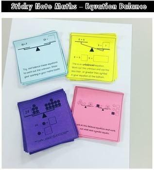 Maths Balance Equations