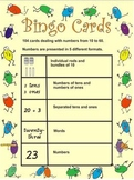 Maths Bingo Cards 10 - 60