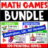 Maths Board Games Bundle [Australia UK NZ Edition]