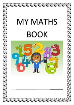 maths book cover page by playteachlearn teachers pay teachers